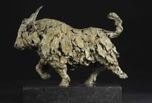 Yak - sculpture / Photographs of the Yak sculpture I made in 2014.  bronze, signed, dated and limited edition