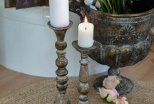 Candlesticks and lanterns / candle, candle lights, candle sticks, lantern cozy lights.