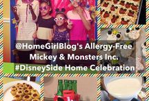 #DisneySide @ Home Celebration / Mickey Mouse and Monsters Inc. Mashup party with allergy free kid party foods! And Giveaway.