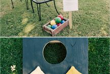 Wedding Reception Ideas / Fun wedding reception ideas from table-scapes and details to outdoor wedding games.