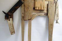 dekoracje drewniane