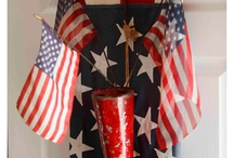 Red, White, Blue / I do not own any of these pins, please pin as many as you like. Happy Pinning  / by Tamera Sarkozi