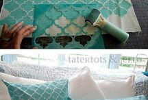 Stencil Decorative