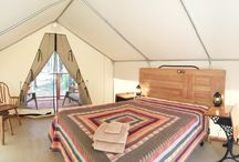 Glamping / Come glamping at the Inn Town Campground, Nevada City, California