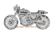 Motorcycle Art / Paintings, Drawings, and Other Motorcycle Illustrations