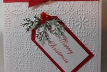 Easy Xmas card / Red