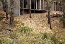 Concrete summerhouse