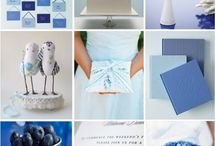 Blue Wedding Theme / Blue is often the color of choice for a wedding theme. See all of our great blue wedding themes, blue wedding inspirations and blue wedding ideas. / by Rustic Wedding Chic