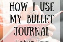 Bullet Journal Ideas / bullet journal, bujo, ideas, tips, spreads, how to bullet journal, dot journal, trackers, supplies