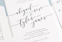 Beautiful Calligraphy / Wedding calligraphy is a timeless art that has been around for ages. In recent years, couple have taken their love of calligraphy beyond just the invitation. Check out some of our favorite ways to incorporate beautiful calligraphy into your wedding decor.