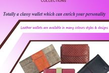 Women's Wallets / Fashionable & genuine leather wallets for women