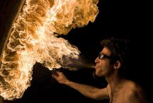 Photography : Fire Performers Inspiration