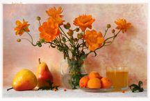 Оранж блюз / о  солнце на закате