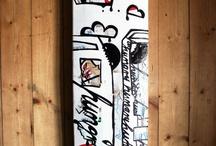 My Skateboard art / by Ann-Kathrin Nikolov
