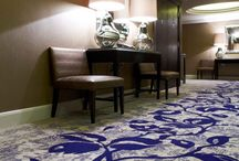 Hotel Common Areas / Carpet designs in hotel common areas