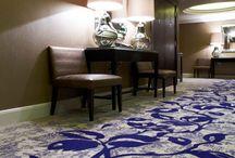 Hotel Common Areas / Carpet designs in hotel common areas