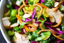 Salads / by Kasey Hathorne