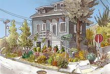 Urban Sketching - Steven Reddy