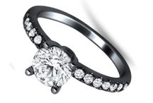 Diamond engagement ring / The Beauty Of Diamond Engagement Rings  and Take Your Love A Step Further