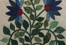 Appliqué - Caswell Blocks and Quilt