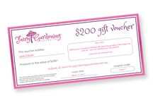 Gift Vouchers - $25.00 - $50.00 - $100.00 & $200.00 Value Available NOW
