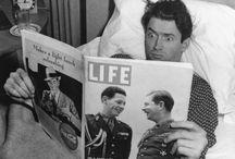 Lectores / Readers / Famosos leyendo / Celebrities reading