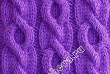 Robótki na drutach / szale swetry skarpety itp