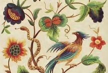 historic embroidery patterns