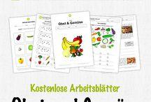 Projekt Obst und Gemüse