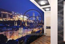 Фотообои для коридора и прихожей / Лучшие дизайнерские решения для декорирования прихожей и коридора фотообоями.