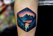 tatuajes paisaje
