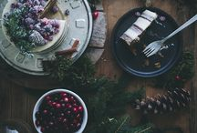 christmas food photography
