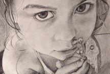 Girls Portraits / Retratos de niñas