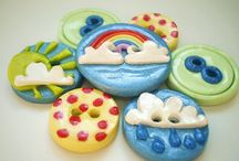 Polymer Clay: Button