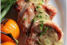 Médaillons de porc aux kiwis