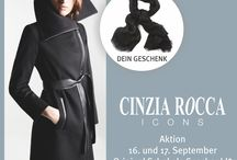 Cinzia Rocca / Outdoor-Klassiker made in Italy, modern interpretiert! CINZIA ROCCA ICONS ist die junge Zweitlinie des italienischen Labels Cinzia Rocca, das bereits seit mehr als 60 Jahren für Mäntel und Jacken in herausragender Qualität bekannt ist. Dieses Know-how ist spürbar: Die Damenmäntel aus feiner Wolle, Cashmere und Kamelhaar werden in Italien gefertigt und fühlen sich wunderbar weich an. ► http://bit.ly/KONEN-Cinzia-Rocca-Icons-HW16-Pin