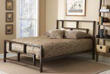 Кровати сталь