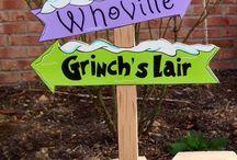Grinch theme xmas