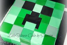 Minecraft Cakes / by Heather Poad White