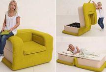 łóżko -fotel