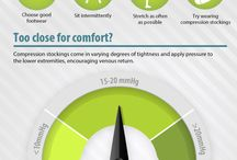 Compression knee socks