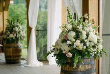 Fleur et barrique