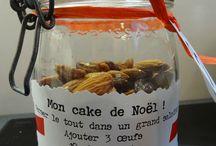 recettes gâteaux cadeau bocal
