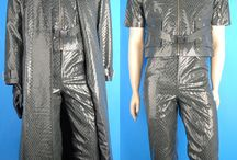 Resident Evil costumes / Resident Evil Albert Wesker suit, Ada Wong cosplay dress, Chris Redfield T-shirt cosplay costumes