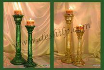 piller candle votive