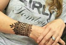 Henna Arm bands