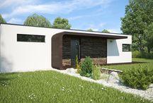 Projekty rodinných domov / V tejto sekcii nájdete naše typizované modulárne domy.