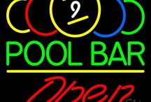 Pool Open Neon Signs