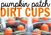 Fall and Halloween / cute and yummy food ideals,  crafts and more