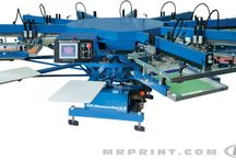M&R DIAMONDBACK SERIES Automatic Screen Printing Presses / The Diamondback Series is M&R's line of versatile and highly-affordable entry-level presses.
